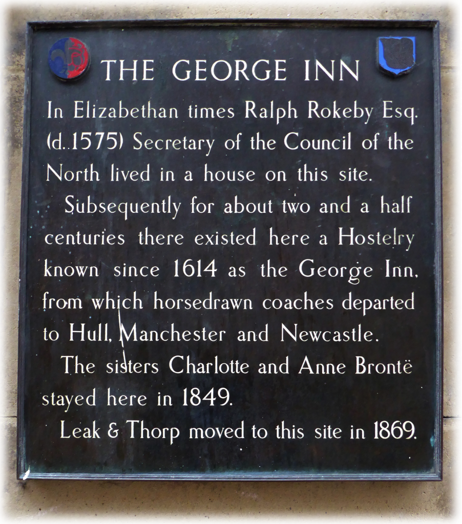 The George Inn Coney Street York