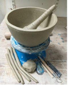 pestle and mortar workshop