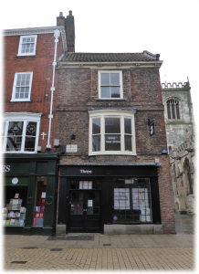 8/13 Coney Street York | Fabrication Crafts Heritage Project. In number 8 we found Corset Makers and Sculptors